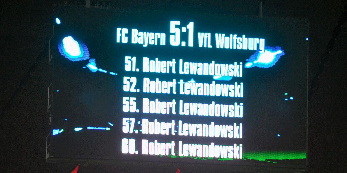 Robert Lewandowski Fünferpack