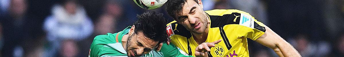 BVB - Werder Bremen: Nur ein Team kann sein Ziel erreichen