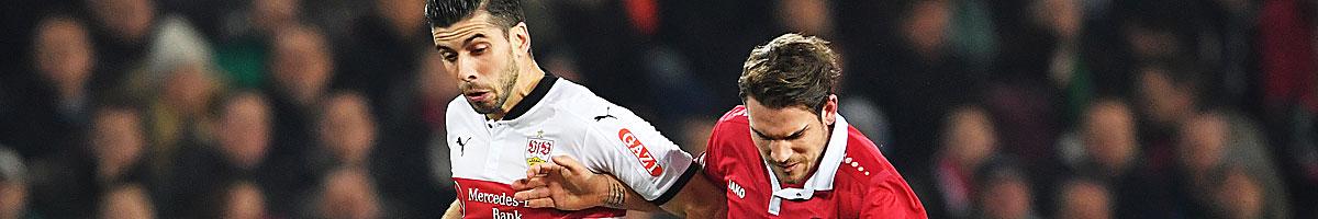 Hannover 96 - VfB Stuttgart: Krisen-Klubs unter sich