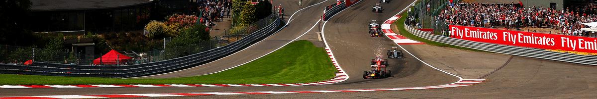 Formel 1 GP von Belgien