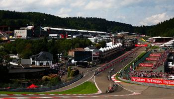 Formel 1 GP von Belgien: Ferrari ist erneut chancenlos
