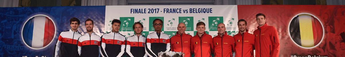 Davis Cup-Finale: Frankreich oder Belgien - Wer besiegt den Finalfluch?
