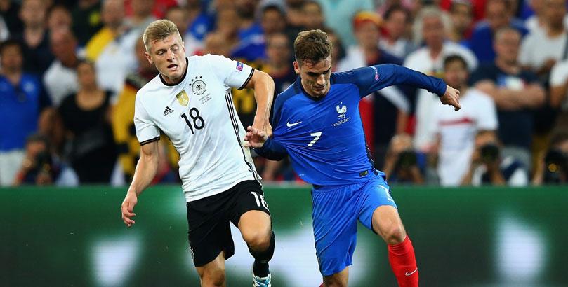 Anstoß Deutschland Frankreich