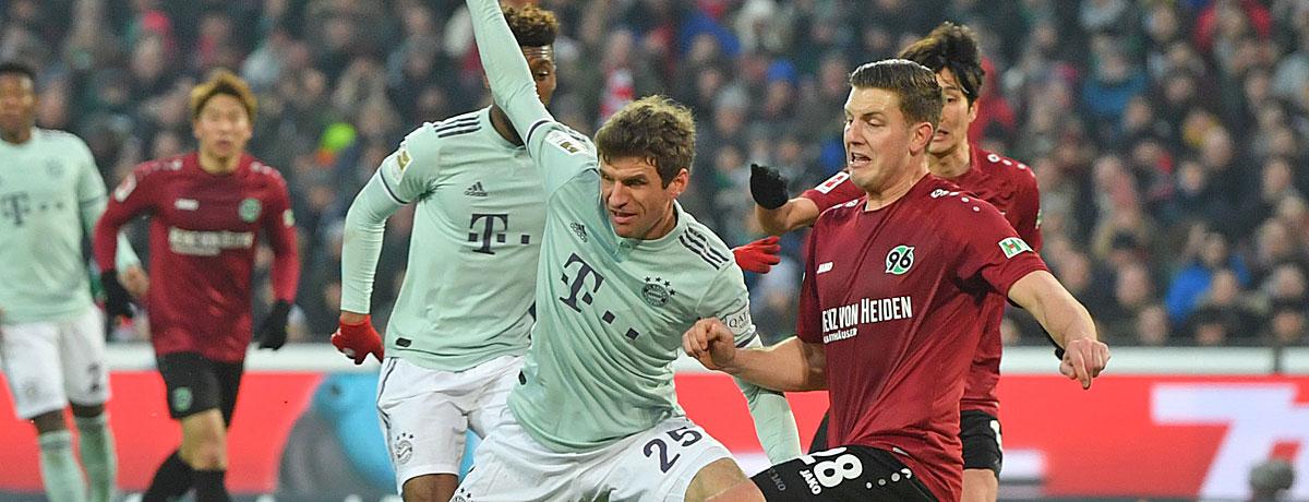 FC Bayern - Hannover 96: Pflichtaufgabe für den Titelaspiranten