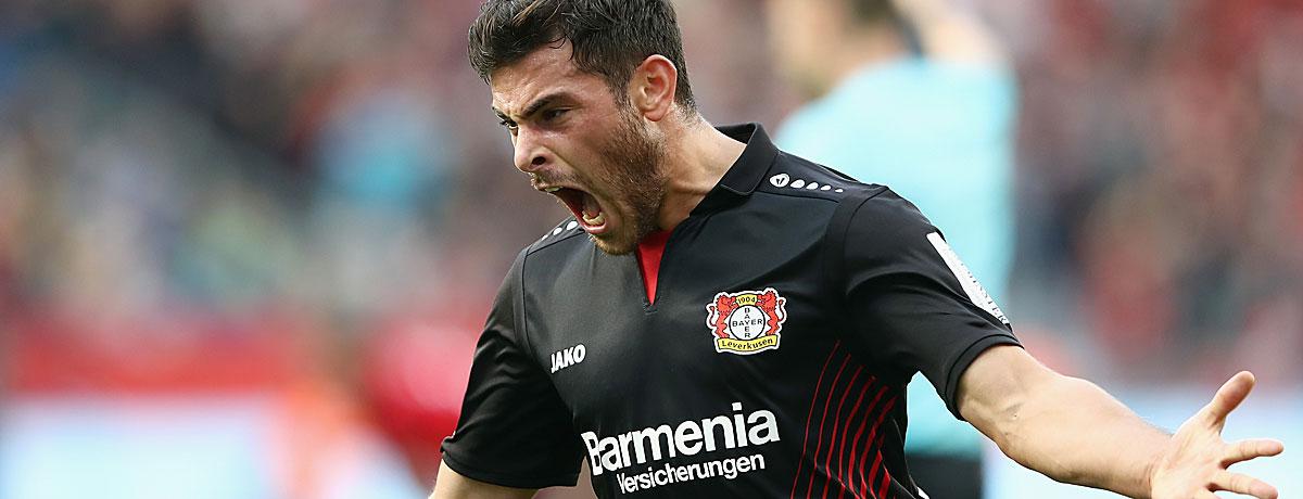 Kevin Volland jubelt gerne gegen Freiburg.