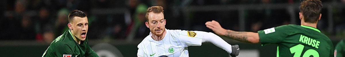 Werder Bremen - VfL Wolfsburg: Grün-Weißes Duell auf Augenhöhe