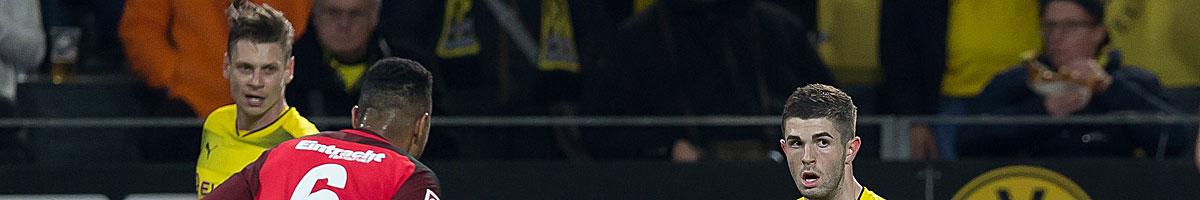 BVB - Eintracht Frankfurt: Neue Trainer vor richtungsweisender Partie
