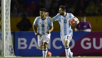 Italia-Argentina: dos combinados gigantes y un solo mundialista