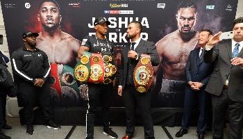 Joshua vs Parker. Tip: Joshua wint op KO net over de helft van het aantal ronden