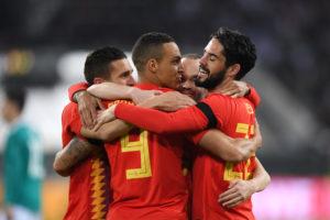 ¿Cómo marcan los delanteros de España?