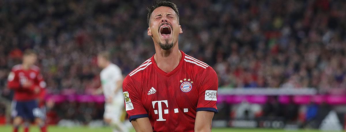 Sandor Wagner im Trikot des FC Bayern.