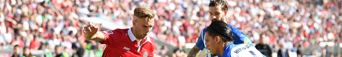 Hannover 96 - Hertha BSC: Niedersachsen droht früher K.o. nach Rückstand