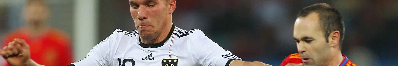 Hoher Besuch für Poldi - Iniesta vor Wechsel nach Japan