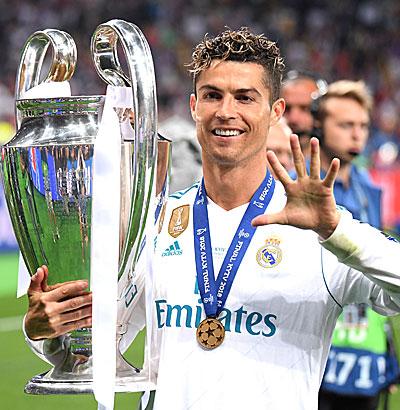 CR7, Cristiano Ronaldo, Ronaldo Wechsel, CL-Quoten, Real Transfers