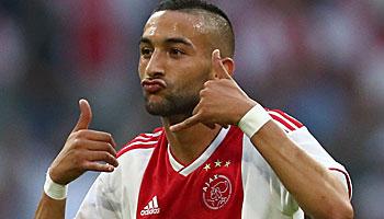 Ajax, Amsterdam, CL Qualifikation, Hakim Ziyech.