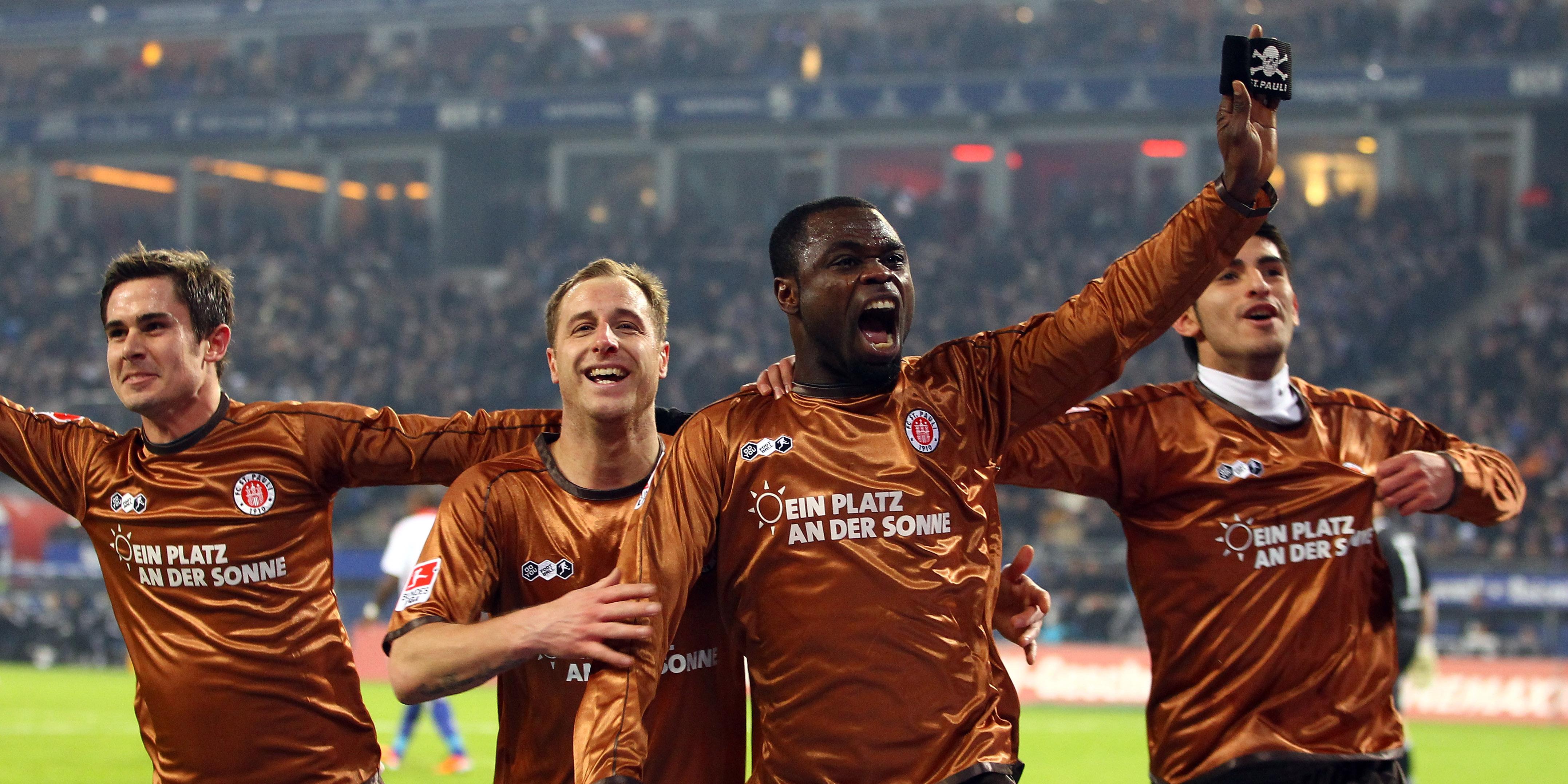 Jubel FC St. Pauli