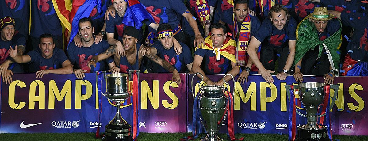 FC Barcelona gewinnt das Triple