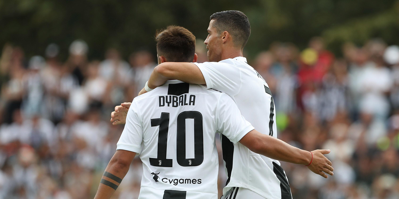 Paulo Dybala, Ronaldo
