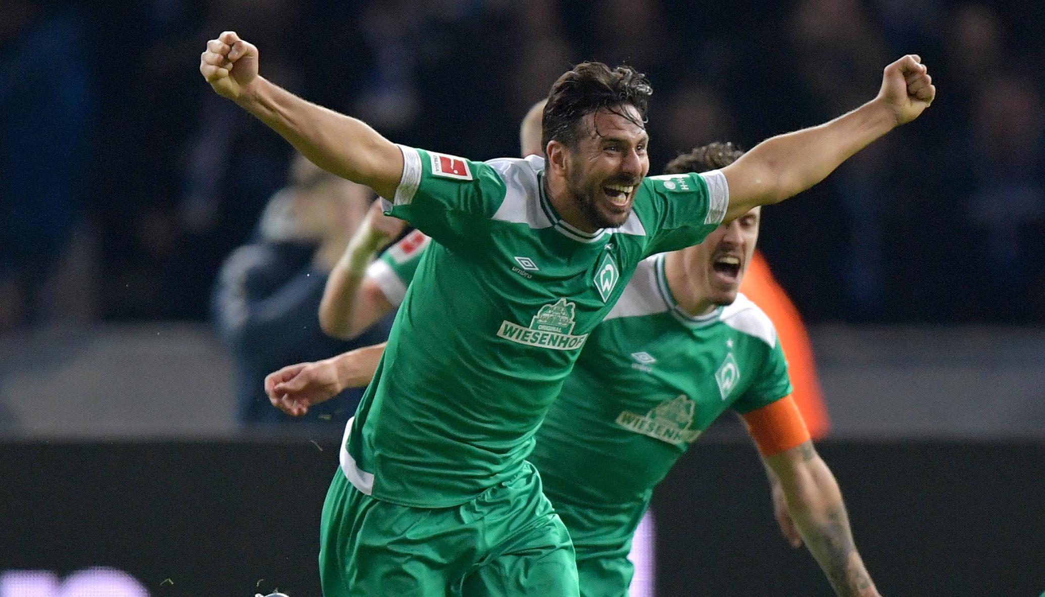 Claudio Pizarro und die ältesten Torschützen der Bundesliga
