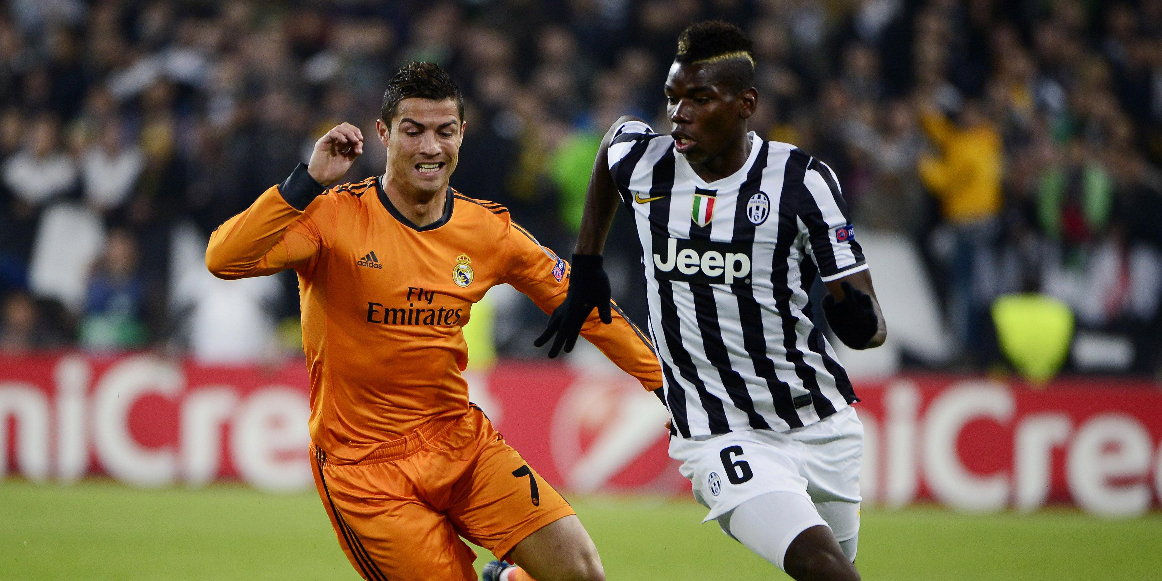 Ronaldo, Pogba