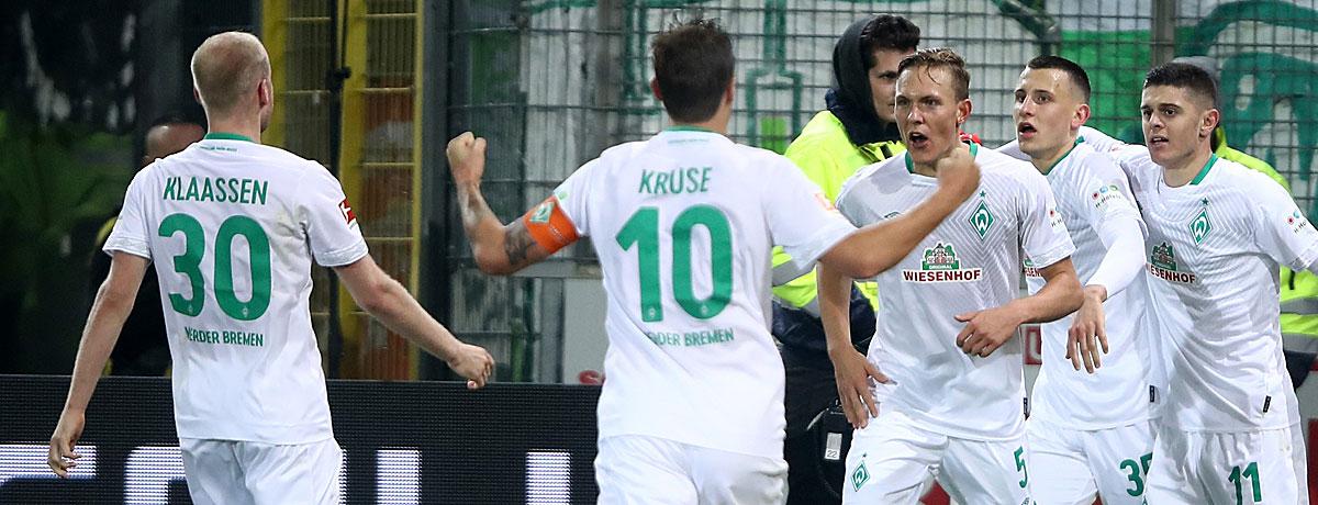 Werder Bremen - SC Freiburg: Werder mit der Serie gegen die Serie