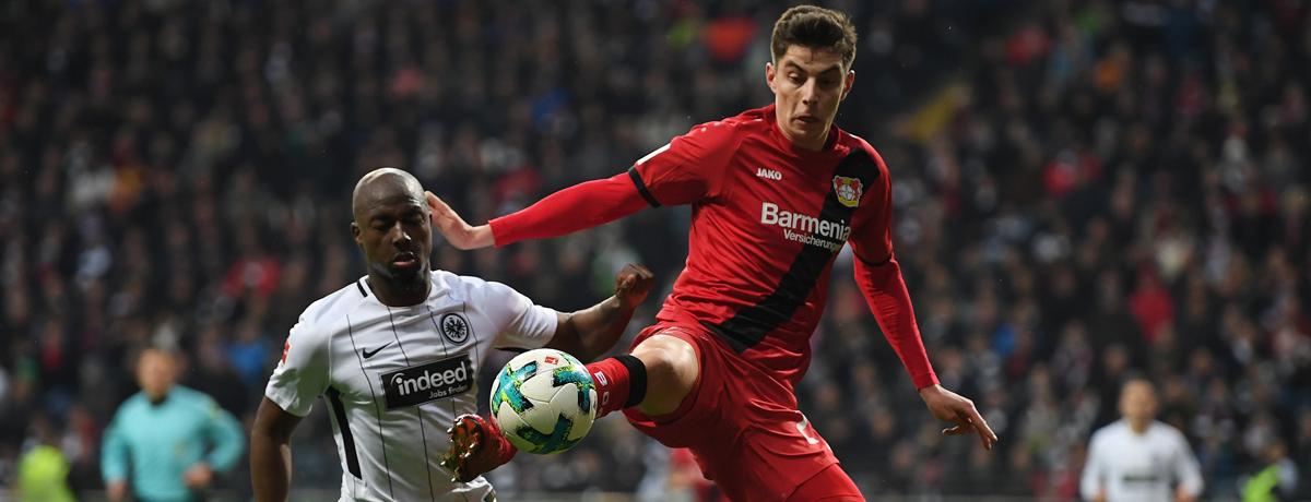 Bayer Leverkusen - Eintracht Frankfurt: Der Sturm verleiht der Werkself Kraft