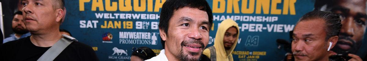 Pacquiao: Broner vor der Brust - Mayweather-Rematch im Hinterkopf