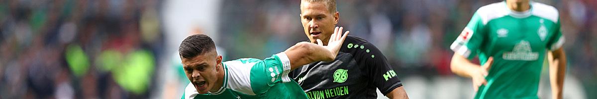 Hannover 96 - Werder Bremen: Start in die Mission