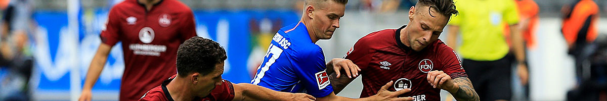 1. FC Nürnberg - Hertha BSC: Schlusslicht setzt auf Heimvorteil
