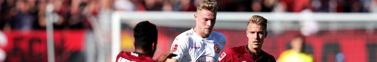 Fortuna Düsseldorf - 1. FC Nürnberg: Ein gefühlter Matchball für Fortuna