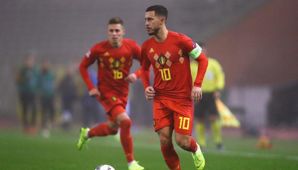 Belgien Russland