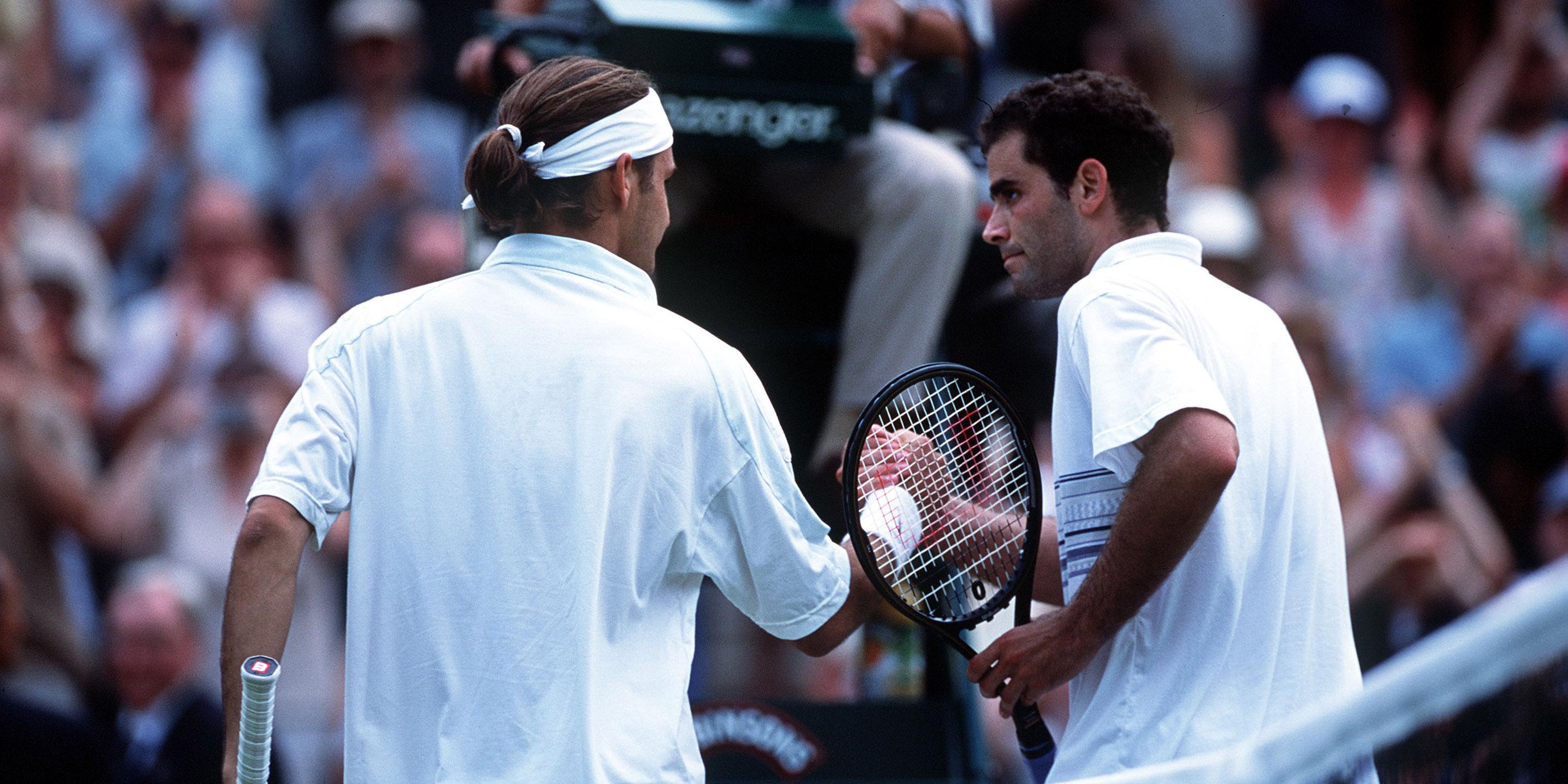 Roger Federer, Pete Sampras