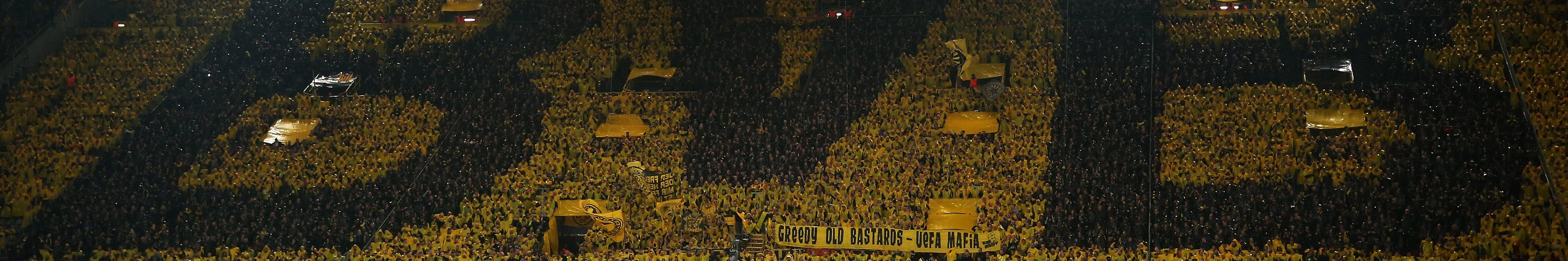 Dortmund, Anfield und Co. - Das sind Europas uneinnehmbare Fußball-Festungen