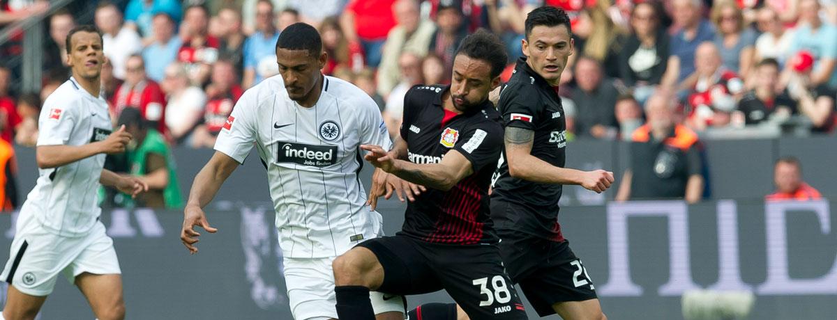 Bayer 04 Leverkusen - Eintracht Frankfurt: Big Point zu vergeben