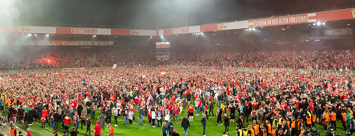Union Berlin ist 5. Bundesliga-Klub aus der Hauptstadt