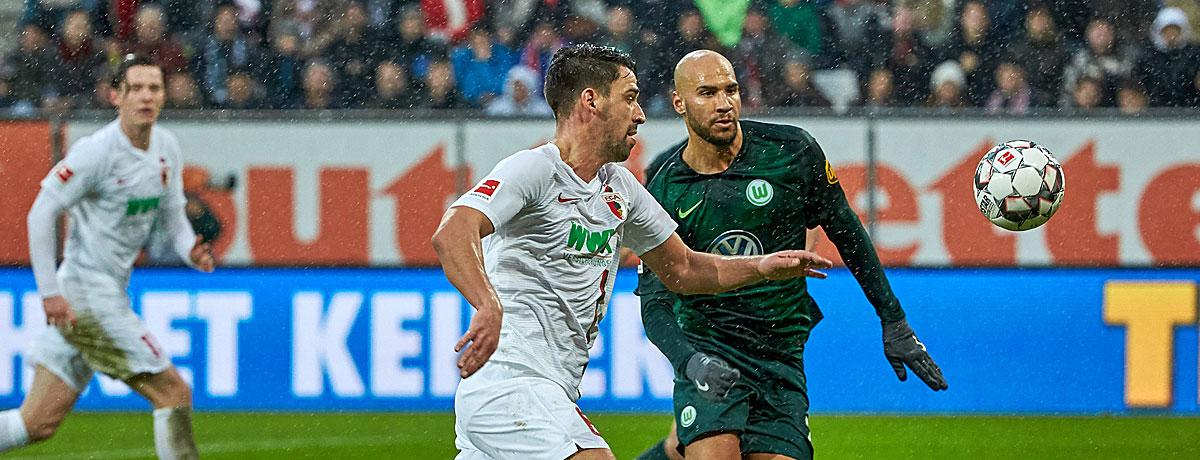 FC Augsburg - VfL Wolfsburg: FCA hofft auf den Trainereffekt