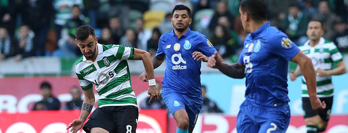 Sporting Lissabon - FC Porto: Standartergebnis ist 0:0 oder 2:1