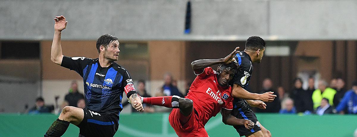 SC Paderborn - HSV: Aufstiegskampf am Limit