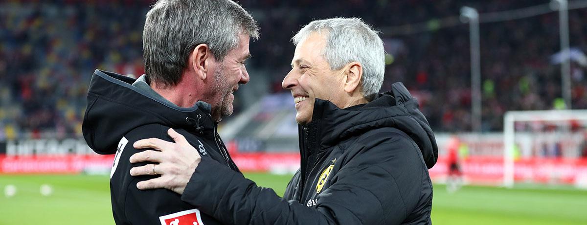 Funkel & Co.: Das sind die ältesten Trainer der deutschen Profiligen