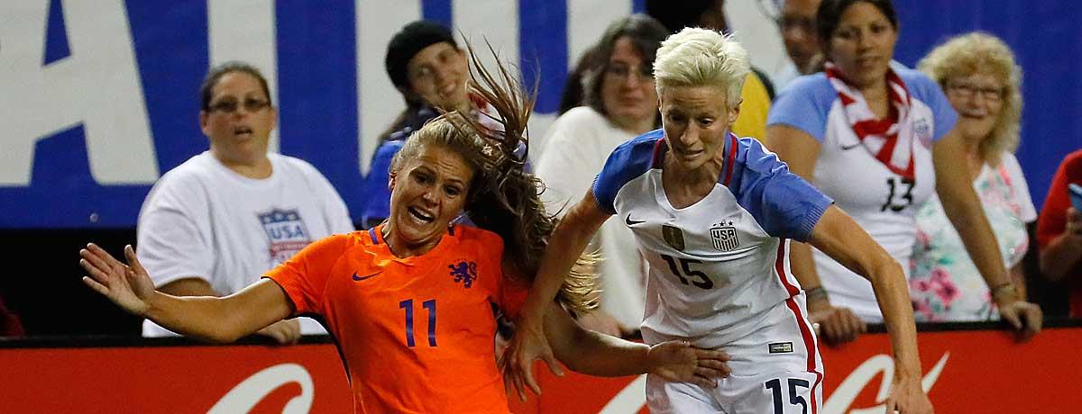 USA - Niederlande: Das Beste kommt zum Schluss
