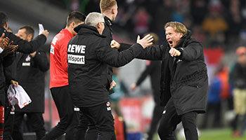 1. FC Köln - VfL Wolfsburg: Geißböcke gehen mit Rückenwind in die Rückrunde