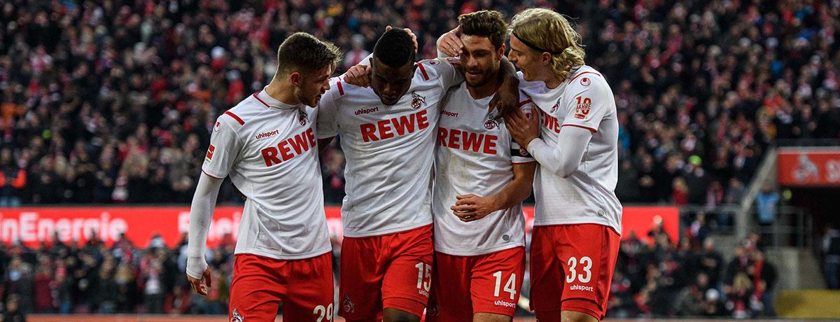 1. FC Köln - SC Freiburg: Effzeh will Heimserie ausbauen