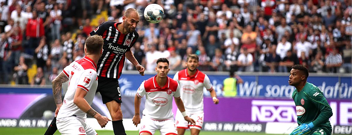 Fortuna Düsseldorf - Eintracht Frankfurt: Zurückgekehrte Stabilität
