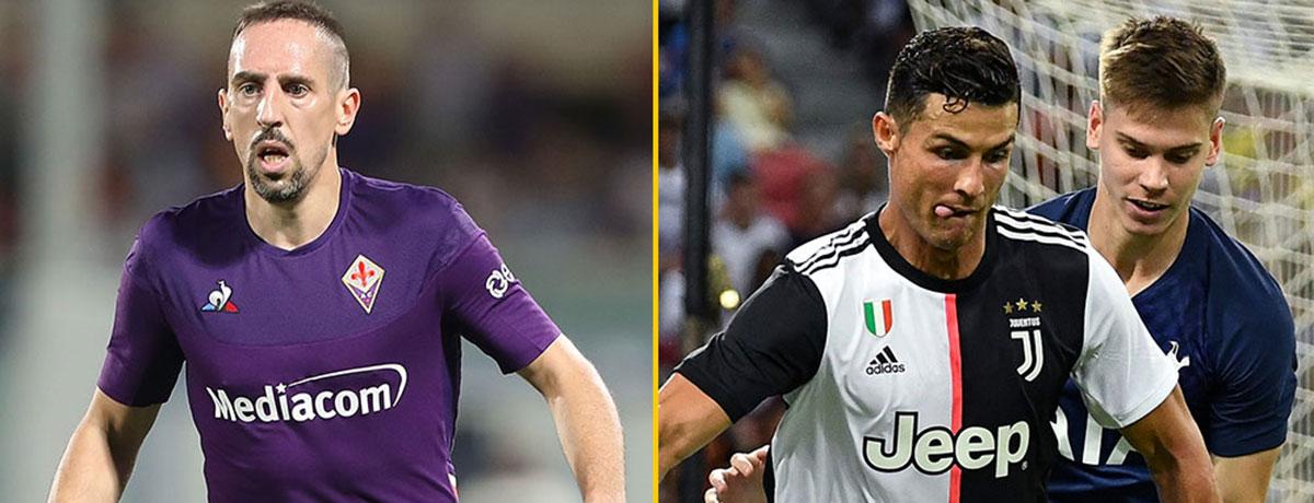 Ribery vs. CR7: Das Duell zweier Legenden