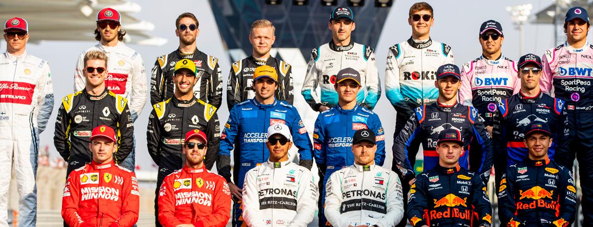 Formel 1 Fahrer News Cockpit Ubersicht Fur 2020 Bwin