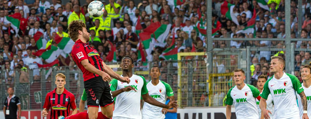 FC Augsburg - SC Freiburg: Kann der SC zu den internationalen Plätzen aufschließen?