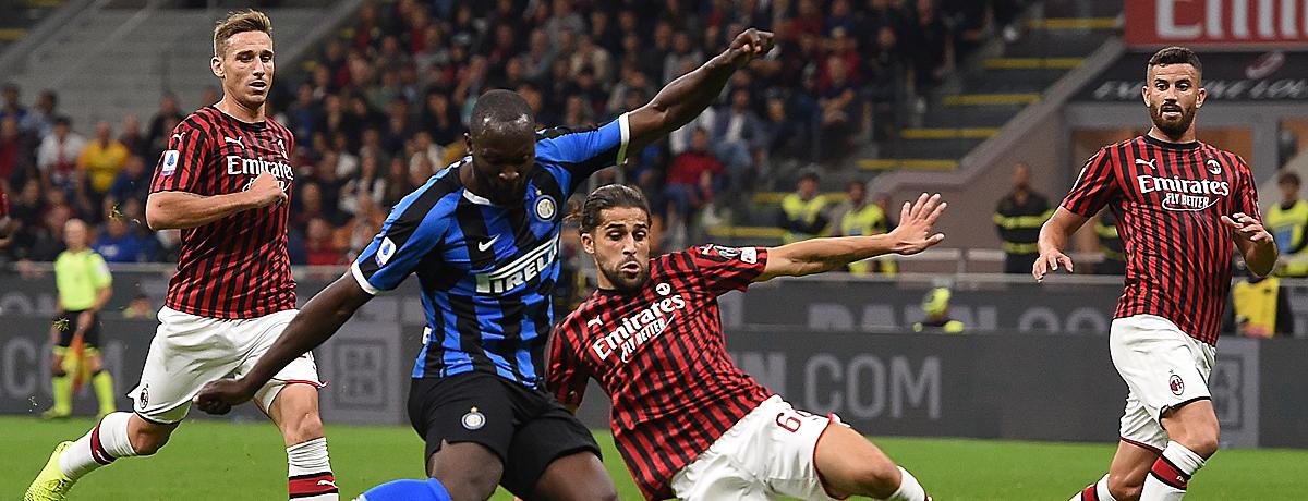 Inter Mailand - AC Mailand: Die Jagd aufs internationale Geschäft