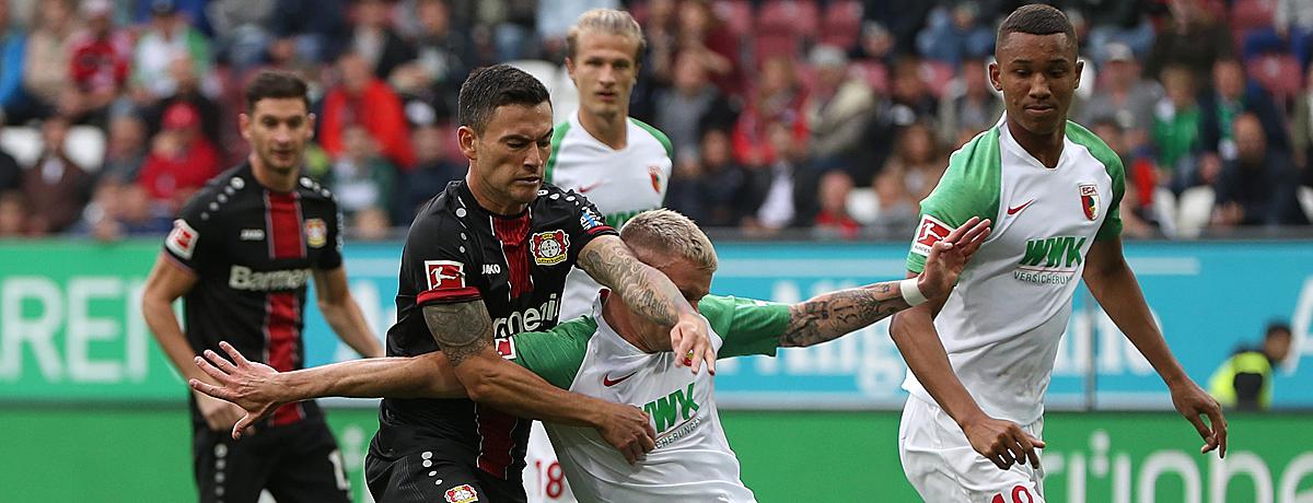 Bayer Leverkusen - FC Augsburg: Es kann nur einen Sieger geben