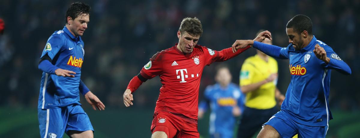 VfL Bochum - Bayern München: Bayerische Durchgangsstation in Richtung Berlin