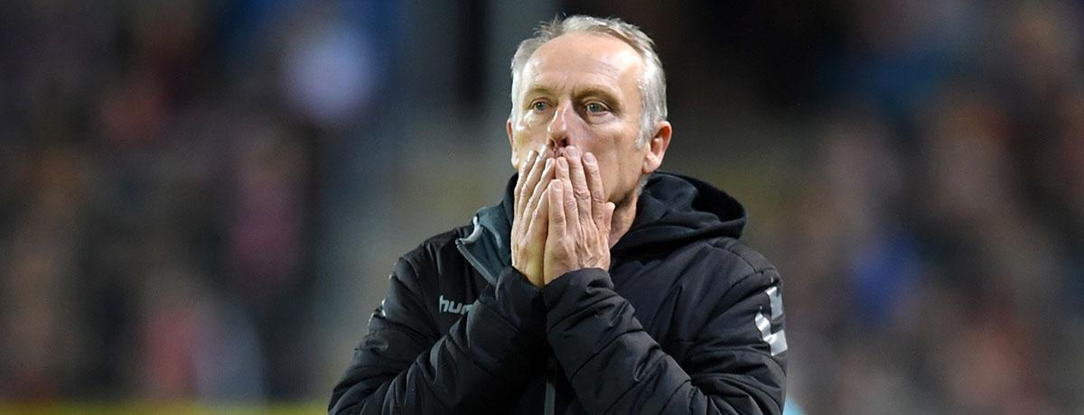 Trainer SC Freiburg Christian Streich